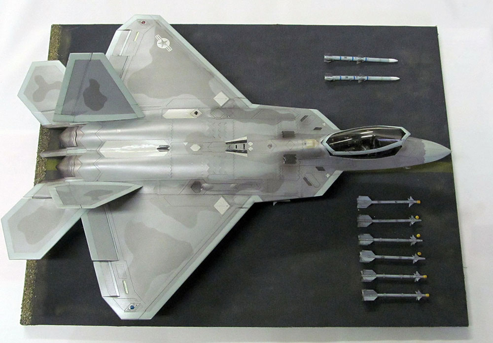 F-22 RAPTOR airplane model