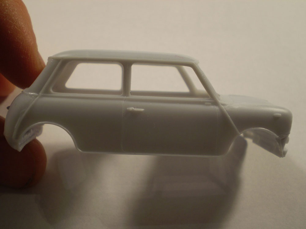 car model kit Austin Mini from Heller