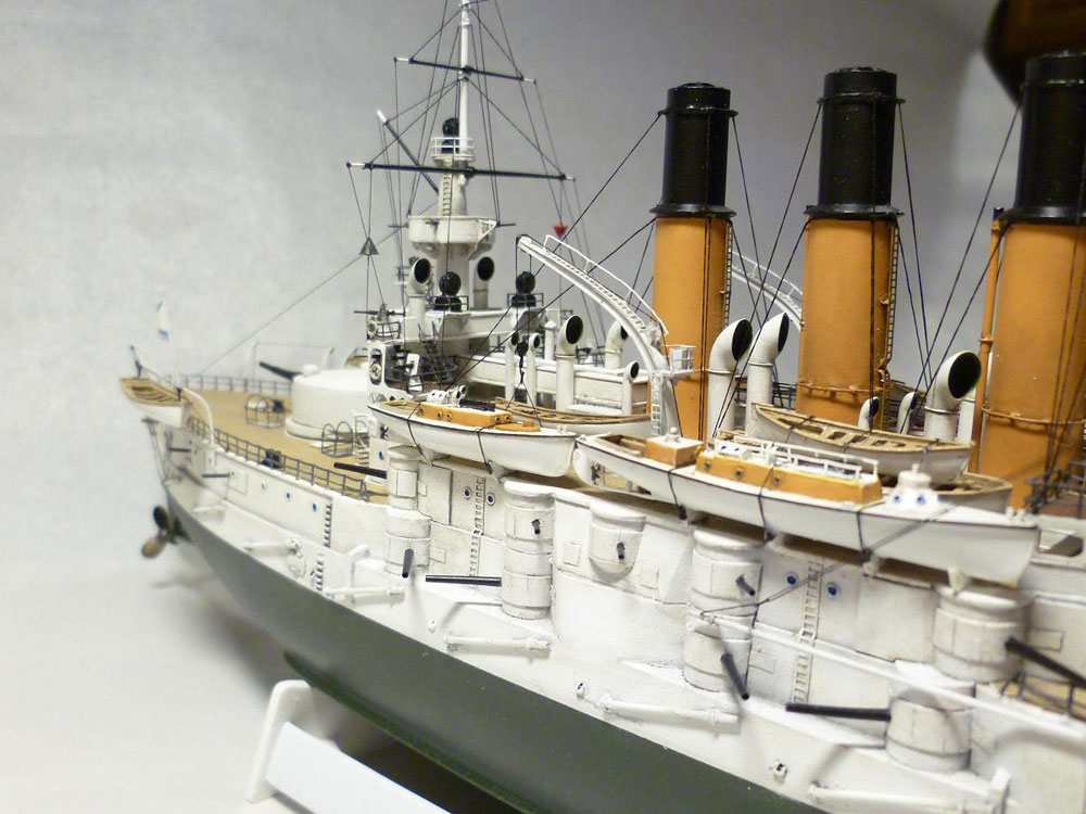 model battleship Retvizan