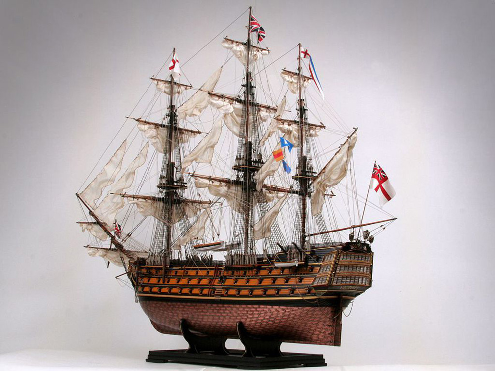 ship model of HMS Victory