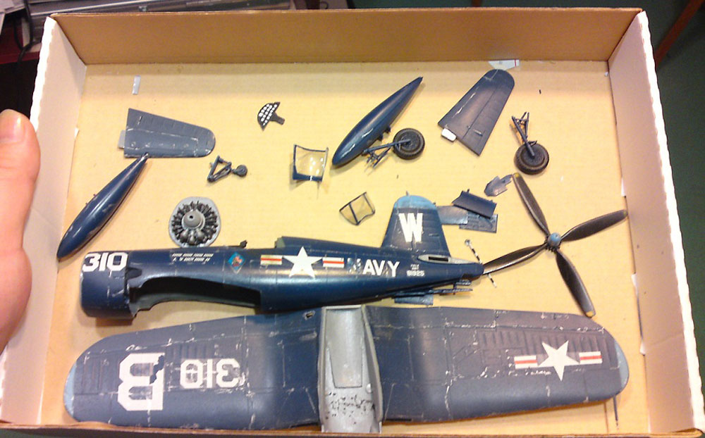 plastic model airplanes kits