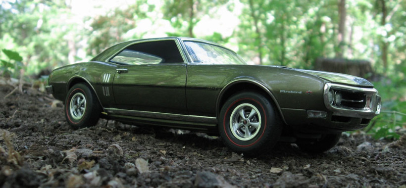 Revell model Firebird 400 Ram Air